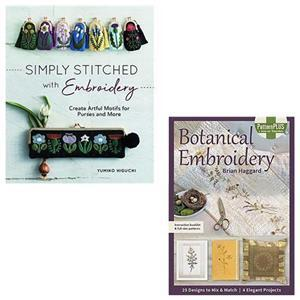 Beginners Embroidery Book Bundle