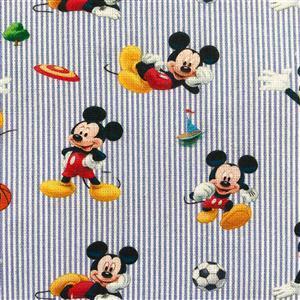 Disney Mickey Mouse Football Fabric 0.5m