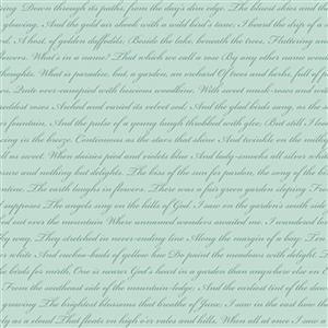 Riley Blake Rose Violets Diary Songbird Fabric 0.5m