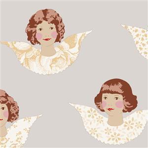 Tilda Angel Scraps in Angels Sand Fabric 0.5m