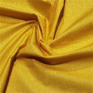Glitter Gold Cotton Fabric 0.5m