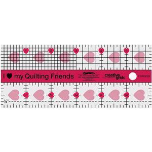Creative Grids® Mini Quilting Friends 6 Inch Ruler