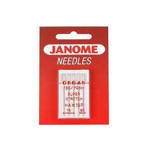 Janome Needles - Ballpoint Needle - UK Size Assorted 11 and 14 - Metric Size 75/90