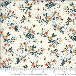 Moda Cider Floral Spotted Multi Fabric 0.5m