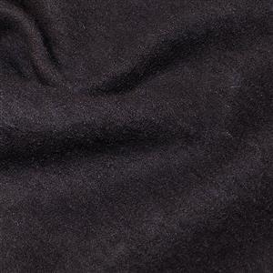 Navy Boiled Wool Fabric 0.5m