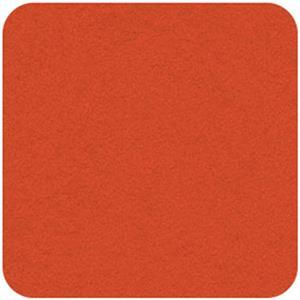 Felt Square in Pumpkin 22.8x22.8cm (9x9