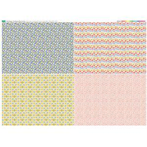 Hello Poppet Fat Quarter Set 1 - 140cm x 107cm