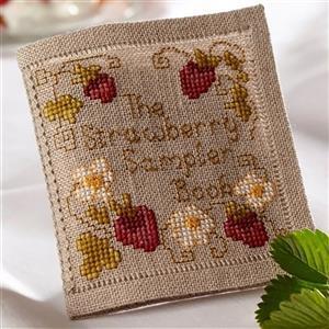 Cross Stitch Guild Strawberry Sampler Book Kit