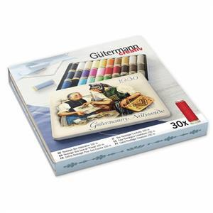 Gutermann Sew-All Nostalgic 1930 Thread Box Assorted Shades 30 x 100m