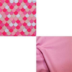 UNDER £15 Riley Blake Ahoy Mermaids Fabric Bundle (1m)