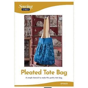 Pleated Bag Instructions