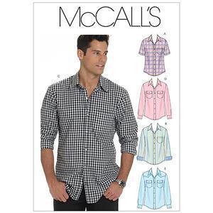 McCall's Mens Shirts Pattern XL-XXXL