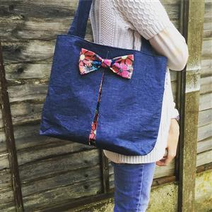 Love from Beth Easy Bow Bag Sewing Pattern