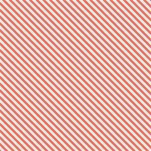 Riley Blake Idyllic Stripes Coral 0.5m
