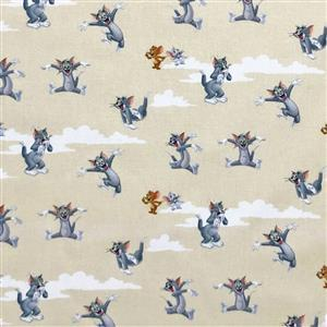 Tom & Jerry Fabric 0.5m