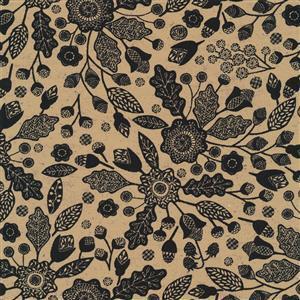 Moda Maryland in Autumn Orange Pine Fabric 0.5m