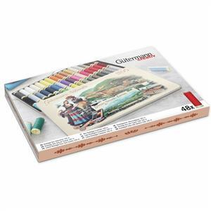 Gutermann Sew-All Nostalgic 1895 Thread Box Assorted Shades 48 x 100m