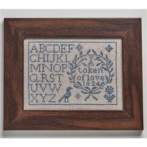 My Quaker Alphabet in Aida