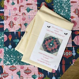 Allison Maryon's Jolly Holly-Day Christmas Tree Skirt Pattern
