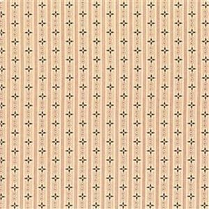 Henry Glass Esters Heirloom Shirtings Cream Wallpaper Stripes Fabric 0.5m
