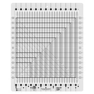 Creative Grids® Non-Slip Stripology Squared Ruler 31.7cm (12½