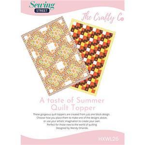 Wendy Orlando A Taste of Summer Quilt Instructions