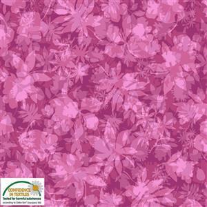 Solaire Autumnal Cerise Fabric 0.5m