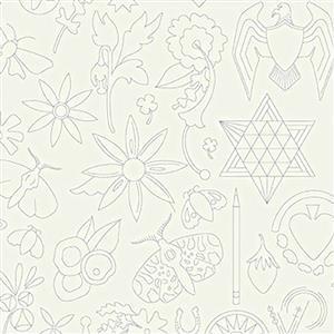 Alison Glass Sunprints Embroidery Lace 0.5m