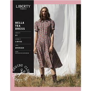 Liberty Lady's Bella Tea Dress Pattern 8-14