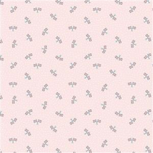 Riley Blake Notting Hill Cross Blush Fabric 0.5m