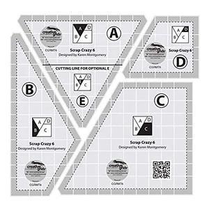 Creative Grids® Non-Slip Scrap Crazy 15.2cm (6