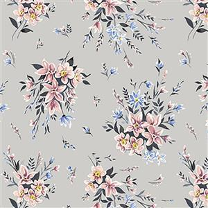 Liberty Bouquet in Pink Fabric from Winterbourne House Range 0.5m