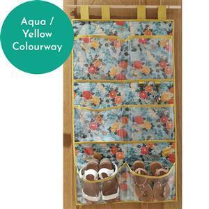 Sew Crazy Girls Snazzy Shoe Store Kit: Aqua / Yellow
