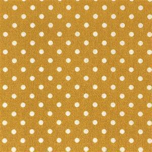 Sweet Pea Mustard Gold Fabric 0.5m