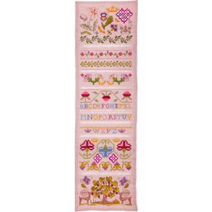 The Cross Stitch Guild Mulberry Tree Band Sampler - Exclusive to Sewing Street