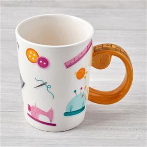 Tape Measure Design Mug