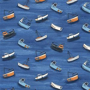 Sailors Rest in Regatta Fabric 0.5m