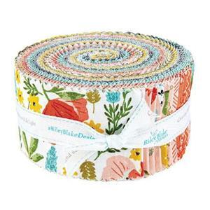 Riley Blake Tea With Bea Design Roll Pack of 40 Pieces