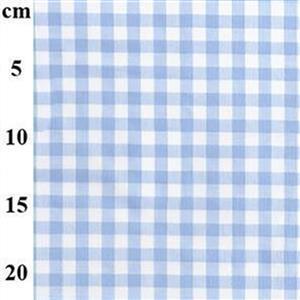Pale Blue Gingham Toddlers Summer Dress & Hat Fabric Bundle (2m)