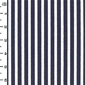 Navy Thin Stripe Esme Tunic Fabric Bundle (2.5m)