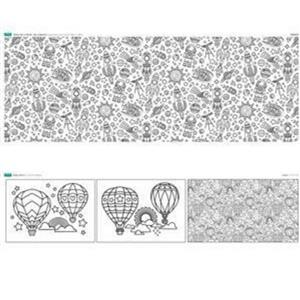 Colour Me In Fabric Panel Bundle. 2 Exclusive Panels. Save £2!