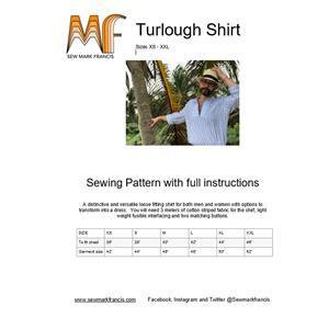 Sew Mark Francis Turlough Shirt Pattern