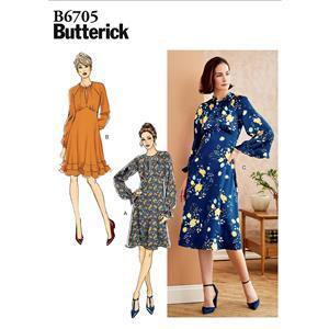 Butterick Long Sleeve Misses' Dress Pattern - Sizes 14-22