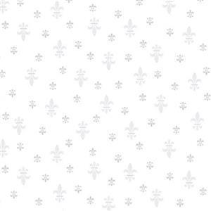 Quilters Flowers 2 Fleur de Lis Fabric 0.5m
