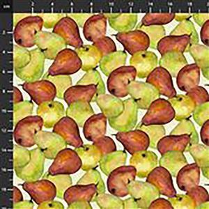 Harvest Whisper Pears Fabric 0.5m