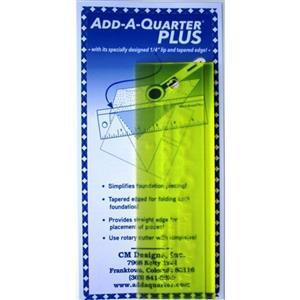 A-Quarter Plus Ruler 2