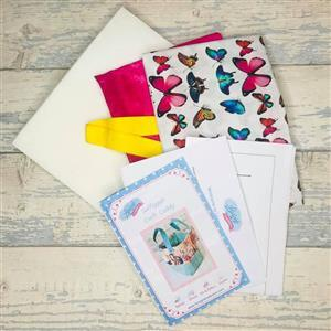 Living in Loveliness Butterfly Saffiyyah Craft Caddy Kit