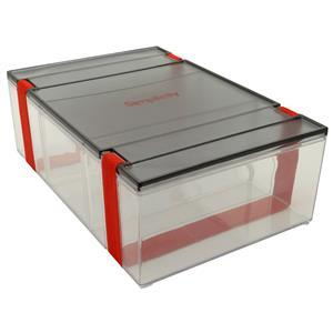 Simplicity Large Divided Storage Container. 27.8cm x 9.6cm x 18.5cm