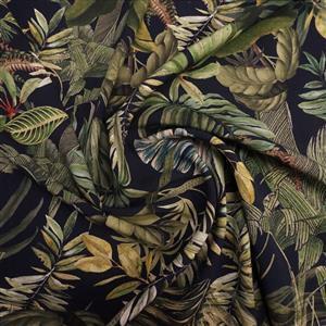 Foliage Canopy Viscose Fabric 0.5m