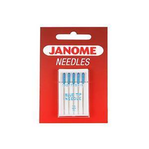 Janome Needles - Blue Tip Needle - UK Size 11 - Metric Size 75